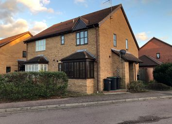 Thumbnail 1 bed end terrace house to rent in St Marys Close, Marston Moretaine