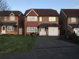 Thumbnail 4 bed detached house to rent in John Dutton Way, Ashford, Kent