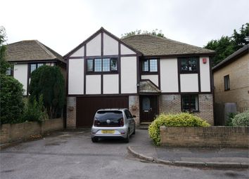 Thumbnail 4 bed detached house for sale in Badgers Close, Ashford