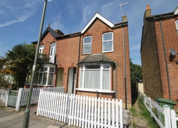 Thumbnail 3 bed semi-detached house for sale in Chaucer Road, Ashford, Middlesex