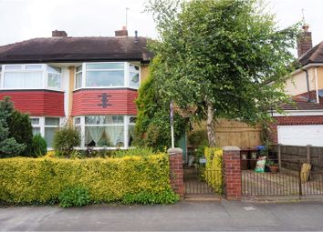 Thumbnail 3 bed semi-detached house for sale in Springfield Road, Cheadle