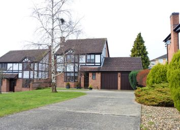Thumbnail 4 bed detached house for sale in Lincoln Close, Grantham