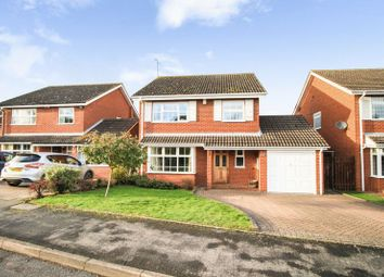 Thumbnail 4 bed detached house for sale in Coopers Walk, Bubbenhall, Coventry