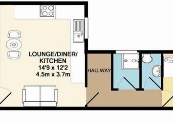 2 bed flat to rent in Bentinck Road, Arboretum, Nottingham NG7