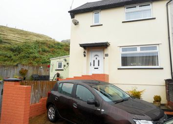 Thumbnail 2 bed semi-detached house for sale in Heol-Y-Mynydd, Pentre