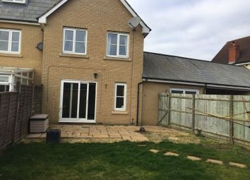 Thumbnail 3 bed terraced house to rent in Jeavons Lane, Great Cambourne, Cambourne, Cambridge