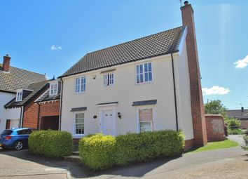 Thumbnail 4 bed detached house for sale in Walsham Le Willows, Bury St Edmunds, Suffolk