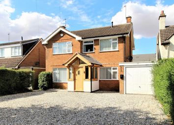 Thumbnail 4 bed detached house for sale in Crick Road, Rugby