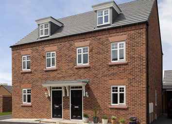 "Thumbnail 3 bedroom end terrace house for sale in ""Nugent"" at Fen Street, Brooklands, Milton Keynes"
