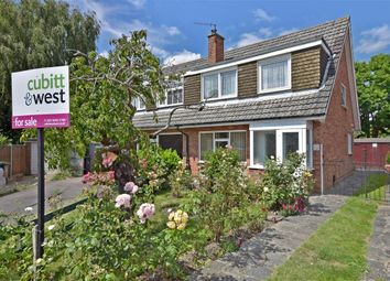 Thumbnail 3 bed semi-detached house for sale in Bedford Close, Havant, Hampshire