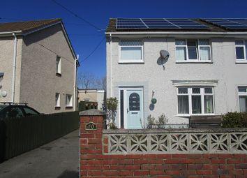 Thumbnail 3 bed semi-detached house for sale in Heol Daniel, Cwmllynfell, Swansea.