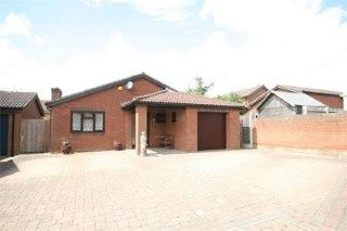 Thumbnail 3 bed bungalow for sale in Woodhall Close, West Hunsbury, Northampton, Northamptonshire