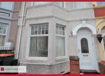 Thumbnail 3 bed terraced house to rent in Walmer Road, Newport