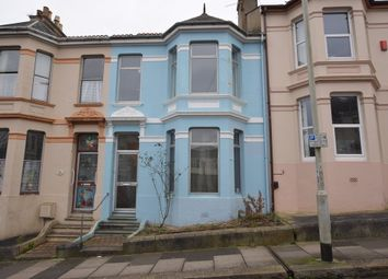 Thumbnail 3 bedroom terraced house for sale in Egerton Road, St. Judes, Plymouth