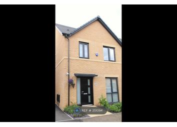 Thumbnail 3 bed semi-detached house to rent in Kesteven Way, Corby