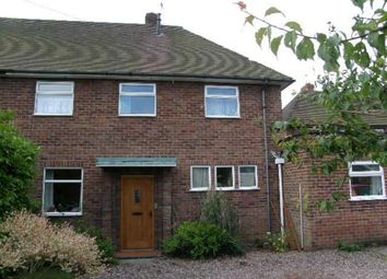 Thumbnail 3 bedroom semi-detached house to rent in Salisbury Road, Market Drayton