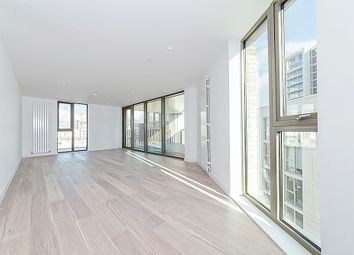 Thumbnail 3 bed flat for sale in Commodore House, Royal Wharf, London