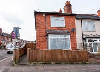 Thumbnail 3 bedroom end terrace house for sale in Kensington Road, Reading