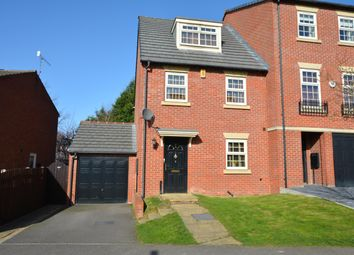 Thumbnail 3 bed town house for sale in Hartfield Close, Hasland, Chesterfield, Derbyshire