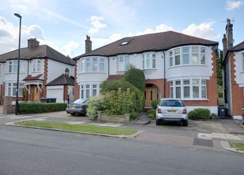 Thumbnail 4 bed semi-detached house to rent in Woodland Way, Winchmore Hill