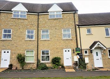 Thumbnail 4 bedroom town house for sale in Truscott Avenue, Swindon