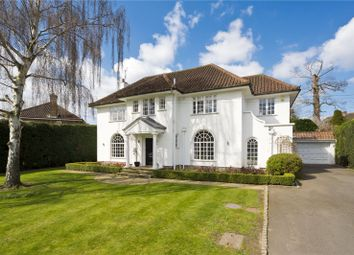 Thumbnail 5 bed detached house for sale in Esher Place Avenue, Esher, Surrey