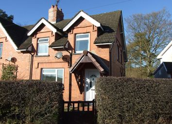 Thumbnail 3 bed semi-detached house to rent in Beulah, Llanwrtyd Wells
