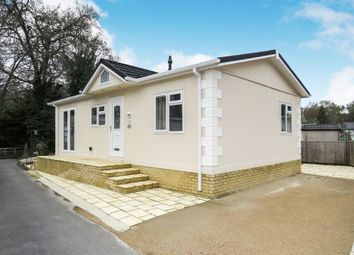 Thumbnail 2 bedroom mobile/park home for sale in Oaklands Mobile Home Park, Hook Common, Hook