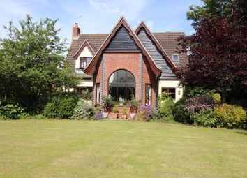Thumbnail 4 bed detached house for sale in York Villa Close, Filby, Great Yarmouth