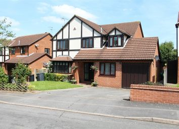 Thumbnail 4 bed detached house for sale in Knighton Close, Broughton Astley, Leicester