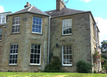 Thumbnail 4 bed semi-detached house for sale in The Wellnage, Duns, Berwickshire