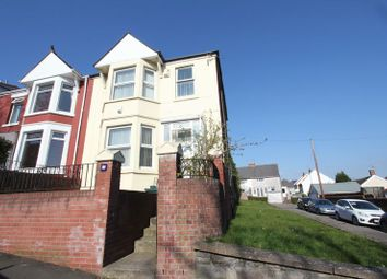 Thumbnail 3 bedroom semi-detached house for sale in Tynewydd Road, Barry