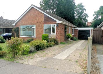 Thumbnail 3 bed detached bungalow for sale in Borton Road, Blofield Heath, Norwich