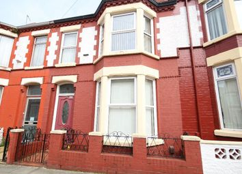 Thumbnail 3 bed terraced house to rent in Woodhall Road, Old Swan, Liverpool