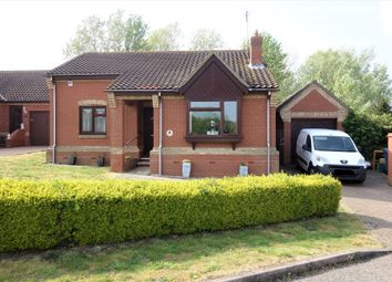 Thumbnail 2 bed detached bungalow for sale in Barley Meadow, Halesworth