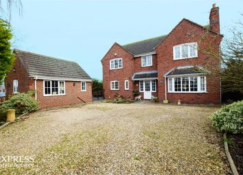 Thumbnail 4 bed detached house for sale in Cemetery Road, Bicker, Boston, Lincolnshire