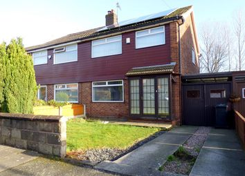 Thumbnail 3 bed semi-detached house for sale in Russell Road, Huyton, Liverpool
