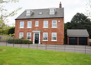 Thumbnail 5 bed detached house for sale in Cedric Drive, Ashby De La Zouch