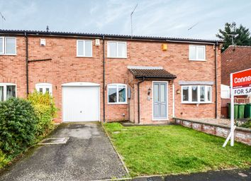 Thumbnail 2 bed town house for sale in Shenton Close, Whetstone, Leicester