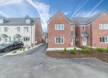 Thumbnail 4 bed detached house for sale in Steeple Chase Road, Newport, Gwent.