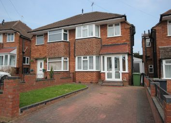 Thumbnail 3 bed semi-detached house for sale in Wichnor Road, Solihull