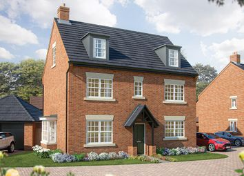 "Thumbnail 5 bed property for sale in ""The Yew"" at Turnberry Lane, Collingtree, Northampton"