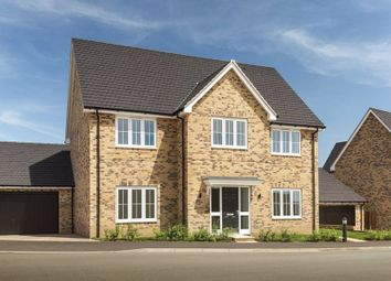 "Thumbnail 5 bedroom detached house for sale in ""The Samville_Brick"" at Bury Water Lane, Newport, Saffron Walden"