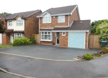 Thumbnail 3 bed detached house for sale in Grizebeck Drive, Allesley Green, Coventry