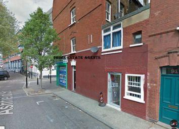 Thumbnail Studio to rent in Ashfield Street, Whitechapel