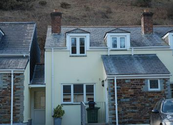 Thumbnail 3 bed semi-detached house to rent in Port Gaverne, Port Isaac