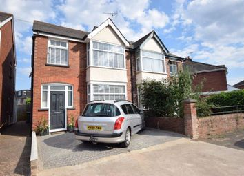 Thumbnail 4 bed semi-detached house for sale in Ashwood Road, St. Thomas, Exeter