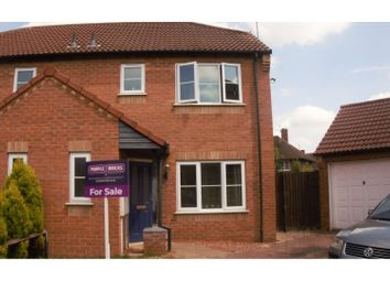Thumbnail 3 bed semi-detached house for sale in Harveys Close, Spalding