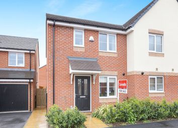 Thumbnail 3 bedroom semi-detached house for sale in School Avenue, Wards Bridge Gardens Wednesfield, Wolverhampton