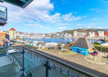 Thumbnail 1 bed flat for sale in Marina Villas, Trawler Road, Maritime Quarter, Swansea, West Glamorgan